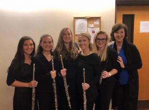 flute quintet with UA instructor